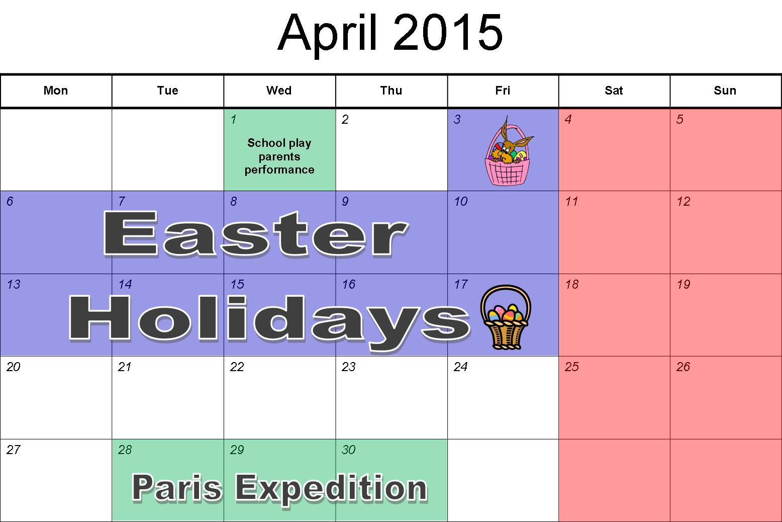 jpeg april 2015 calendar 1000 x 167 88 kb jpeg spring break 2015 771 x ...